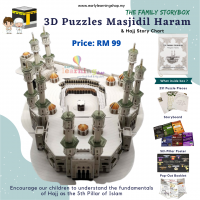 The Family Storybox - 3D Puzzle Masjidil Haram