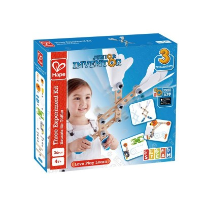 Three Experiment Kit STEAM Toy