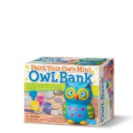 Paint Your Own Mini Owl Bank