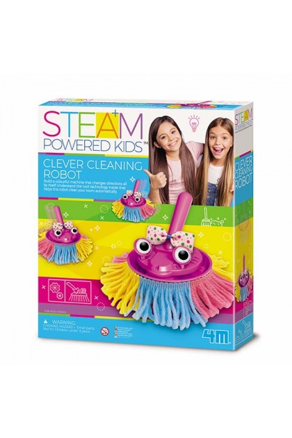 STEAM : Clever Cleaning Robot