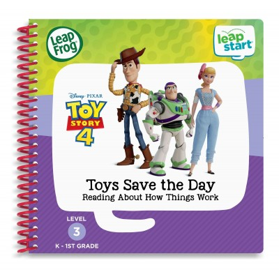 *NEW* LeapStart™ Level 3: Toy Story 4 - Toys Save the Day