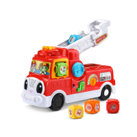*NEW* Tumbling Blocks Fire Truck