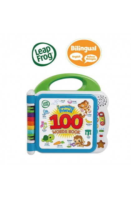 Learning Friends 100 Words Book (ENG/BM)