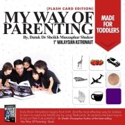 Pre Order : Flashcard Edition - My Way of Parenting by Dr Sheikh Muszaphar
