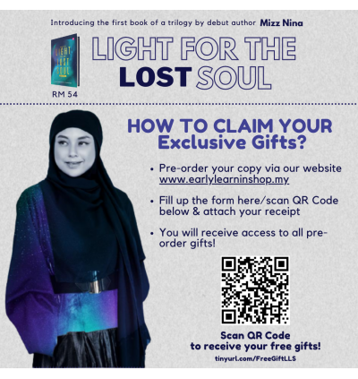 Pre Order : Light For The Lost Soul By Mizz Nina