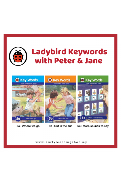 Keywords with Peter & Jane : 5a, 5b & 5c