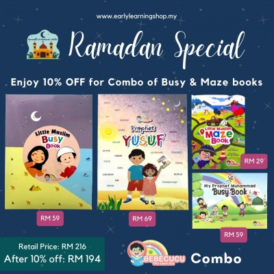 Combo of Busy & Maze Book