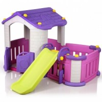 Big Playhouse with Slide