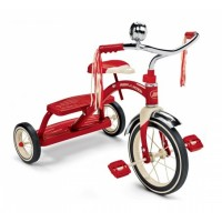 Classic Red Dual Deck Tricycle