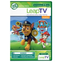 LeapTV: Nickelodeon PAW Patrol: Storm Rescuers Educational, Active Video Game