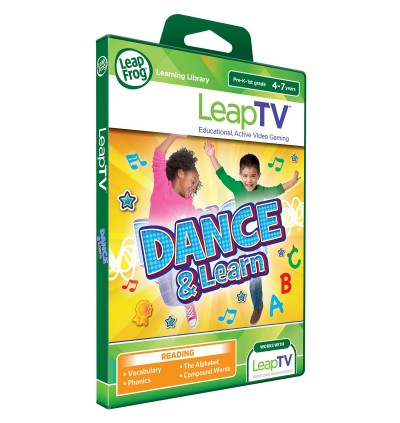 LeapTV™ Dance & Learn Educational, Active Video Game