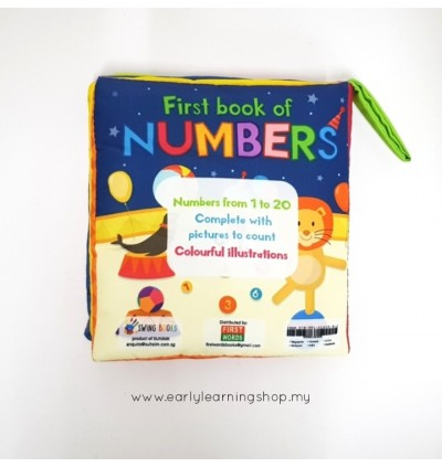 First Book of Numbers Soft Books