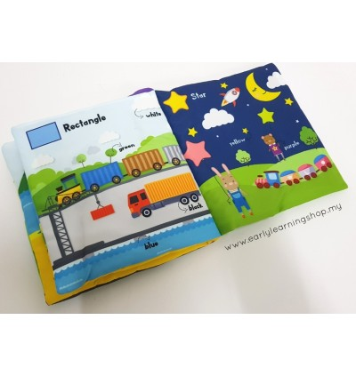 First Book of Shapes and Colours Soft Books
