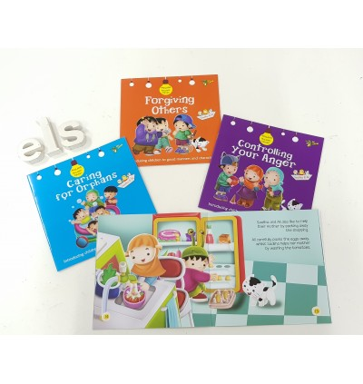 Akhlaaq Building For Kids Series - Combo 2