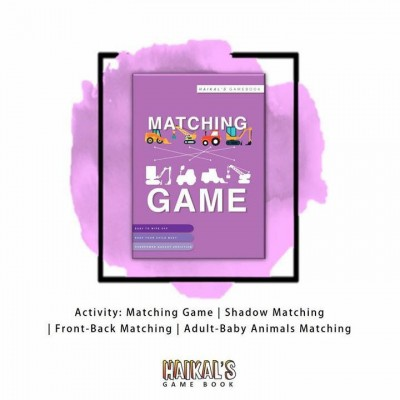 Haikal's Game Book : Book 1 Matching Game