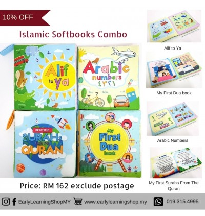 *COMBO* Baby Soft Books (Islamic)