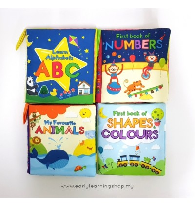 Baby Soft Books - Early Learner Combo