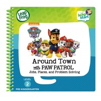 LeapStart™ Level 2: Around Town With PAW Activity Book