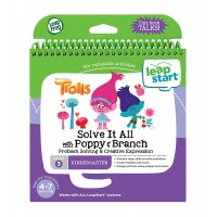 LeapStart™ Level 3: Trolls Solve it All with Poppy & Branch Activity Book