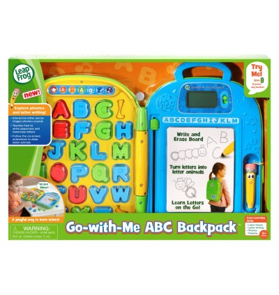Go With Me ABC BackPack