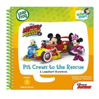 LeapStart™ Level 1: Mickey and the Roadster Racers Pit Crews to the Rescue