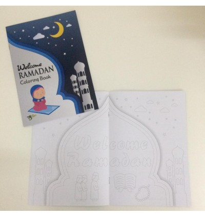 Welcome Ramadhan Coloring Book
