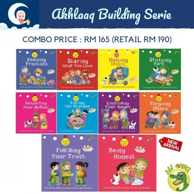 Akhlaaq Building For Kids Series Combo