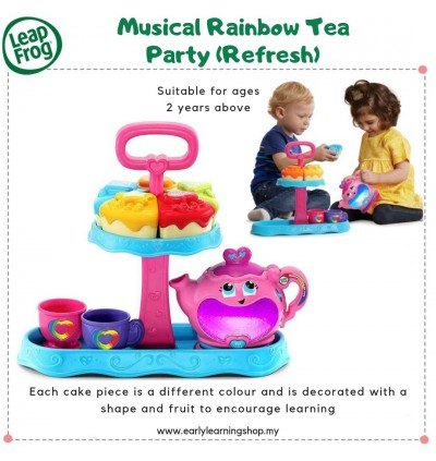 *NEW* Musical Rainbow Tea Party (Refresh)