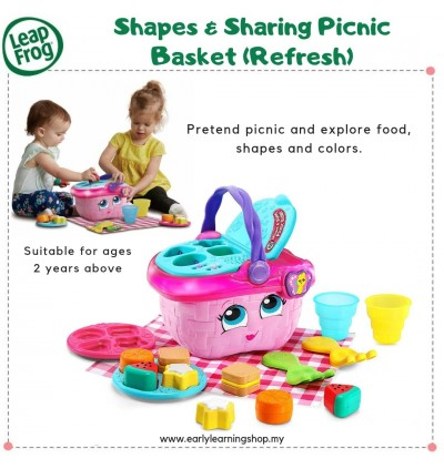 *NEW* Shapes & Sharing Picnic Basket (Refresh)