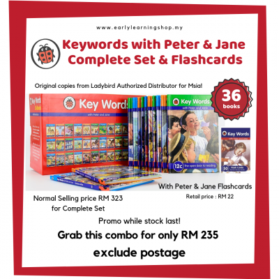 Keywords with Peter & Jane Complete Set + Flashcards Combo