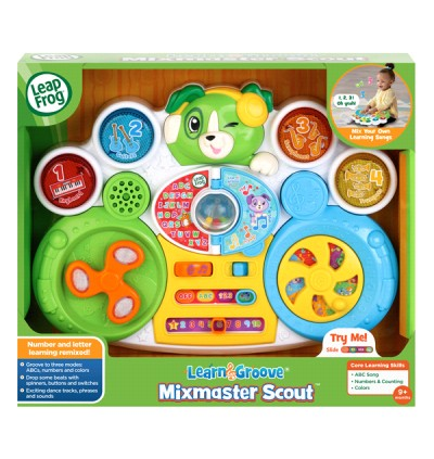 *NEW* Learn & Groove Mixmaster Scout