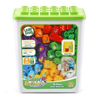 *NEW* LeapBuilders® 81- Piece Jumbo Blocks Box