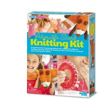 Adorable Scarf Knitting Kit