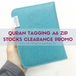 Quran Tagging Nafeesa (Humaira A6 Size With Zip)
