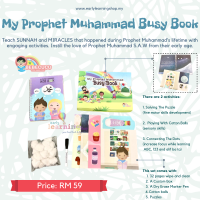 My Prophet Muhammad Busy Book