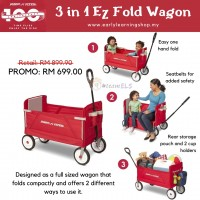 3 in 1 EZ Fold Wagon